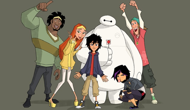 6 Süper Kahraman Serüvenler, 11 Ağustos'tan itibaren her hafta sonu Disney Channel'da!