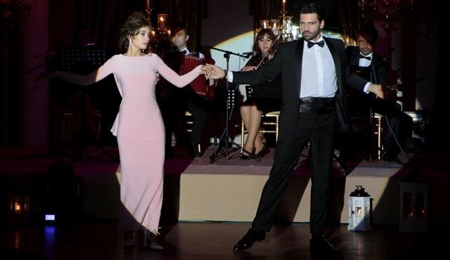 Kara Sevda'da dans sahnesine özel hazırlık!