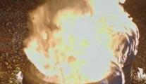 Ateşle yansana