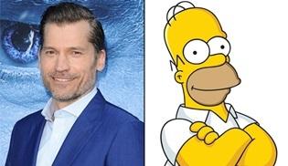 Nikolaj Coster-Waldau, The Simpsons'ın yeni sezonuna konuk olacak