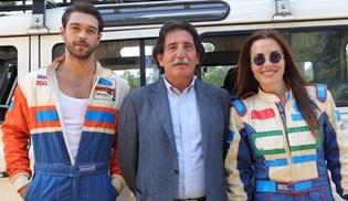 Furkan Andıç, Çatı Katı Aşk dizisi için ralli pilotu oldu!