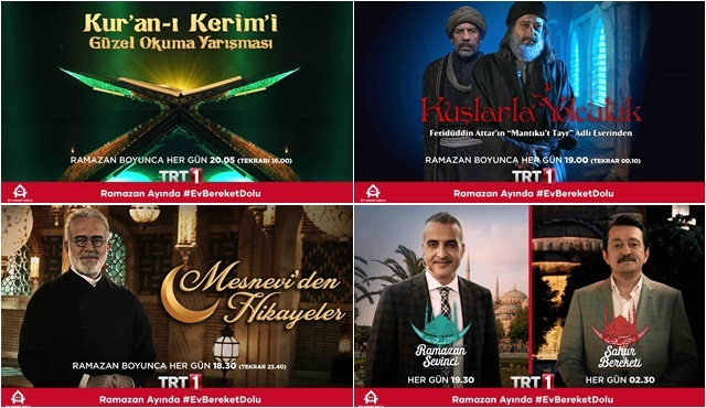 TRT1'den Ramazan ayına özel içerikler!