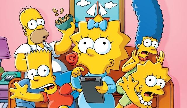 The Simpsons yeni sezonuyla FX'te ekrana gelecek!