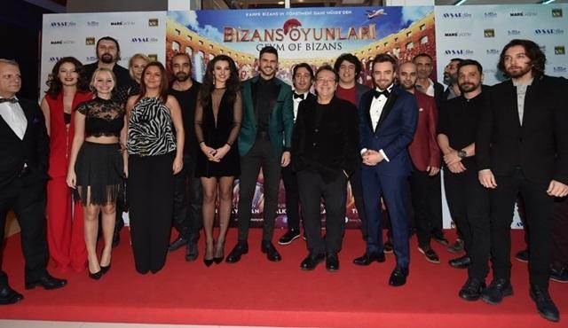 'Bizans Oyunları' filminin ilk gösterimi yapıldı!