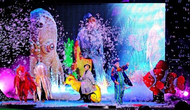 """""""The Underwater Paradise"""" istanbul'da ilk kez izleyiciyle buluşuyor!"""