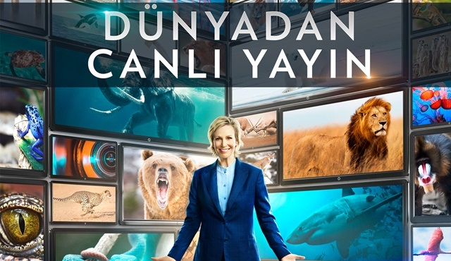 Dünyadan Canlı Yayın, National Geographic ile aynı anda, canlı yayınla FOX'ta!