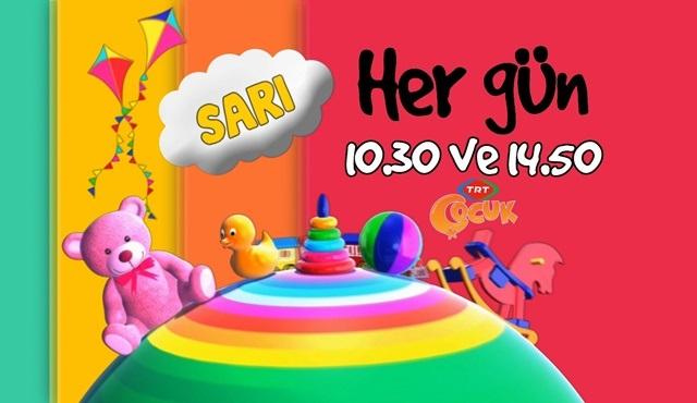 TRT Çocuk'un yeni programı Sarı, çocuklara eğlenceli aktiviteler sunuyor!