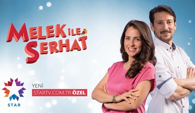 'Melek ile Serhat' dizisi Star Tv'nin internet sayfasında yayında!