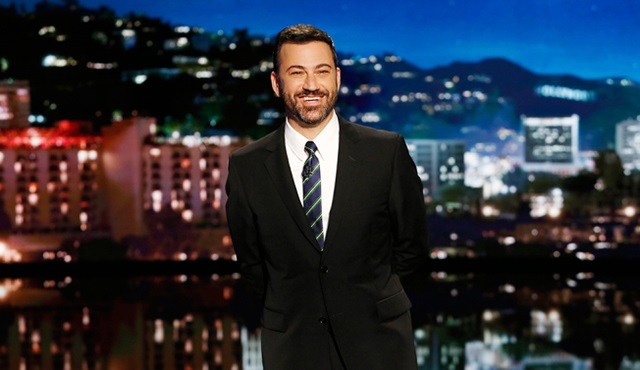 Jimmy Kimmel, The Late Show with Stephen Colbert'e konuk olacak