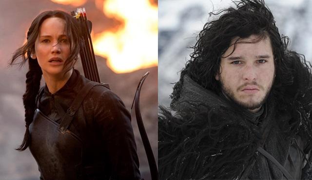 Game of Thrones ve The Hunger Games hayran videosunda buluştu