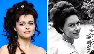 The Crown'da Prenses Margaret rolünü Helena Bonham Carter devralıyor