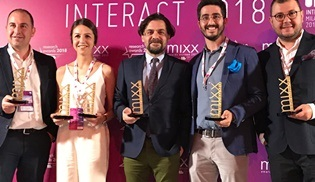 İçerdesin projesi MIXX Awards Europe'da 4 Gold ödülün sahibi oldu!
