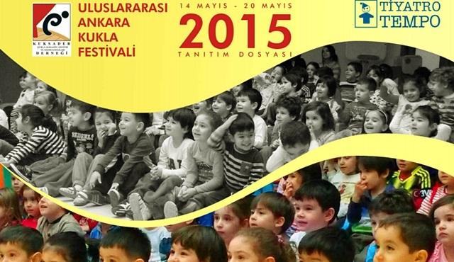 1. Uluslararası Ankara Kukla Festivali başlıyor!