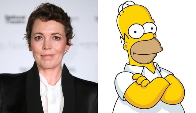 Olivia Colman, The Simpsons dizisine konuk olacak
