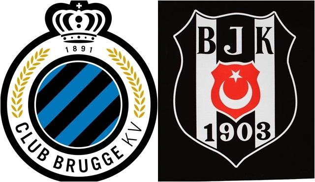 UEFA Avrupa Ligi Karşılaşması: Club Brugge - Beşiktaş
