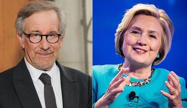 Steven Spielberg ve Hillary Clinton yeni bir dizi için ortaklık kurdu