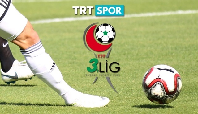TFF 3.Lig Play-Off Final Karşılaşmaları, TRT SPOR'da ekrana gelecek!