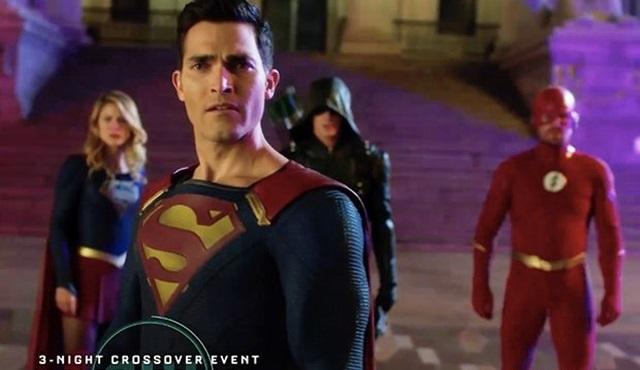 Arrow, The Flash ve Supergirl'ün ortak bölümlerinden tanıtımlar gelmeye devam ediyor