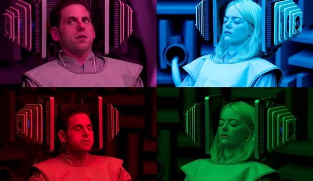 Emma Stone ve Jonah Hill'in Netflix dizisi Maniac'tan ilk kareler geldi