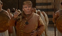 Donald Trump, Game of Thrones dünyasına dahil olursa...