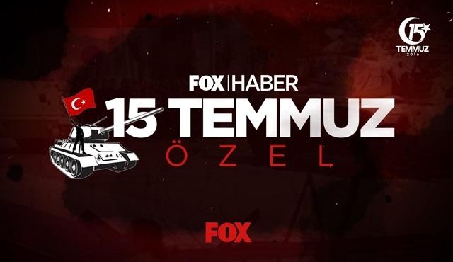 Fox Ana Haber, 15 Temmuz Özel Yayını ile ekrana gelecek!