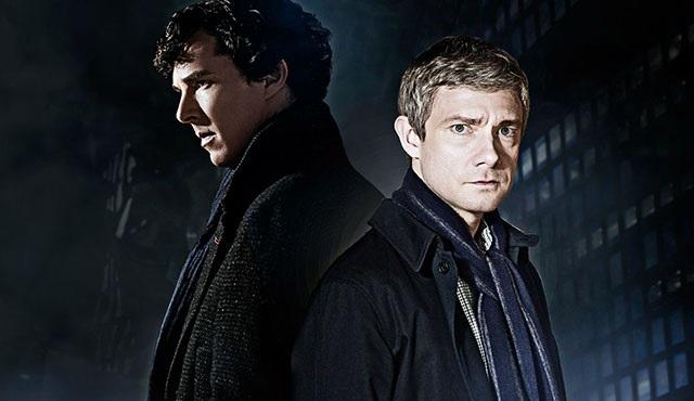 Sherlock'un 4. sezonundan ilk fotoğraf paylaşıldı