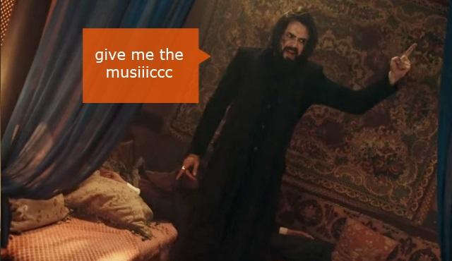 Filinta Caps: Give me the music!
