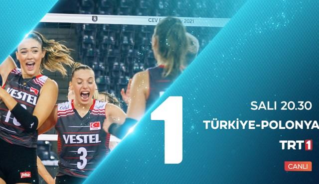 Ay yıldızlıların voleybol ve futbol karşılaşmaları canlı yayınla TRT 1'de ekrana gelecek!
