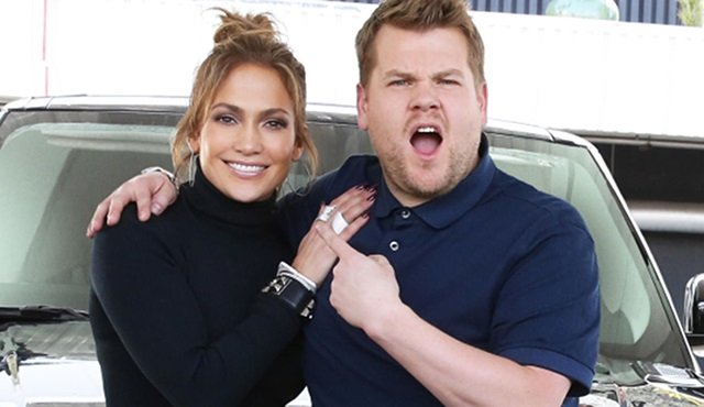 Jennifer Lopez, James Corden ile Carpool Karaoke'ye konuk oldu
