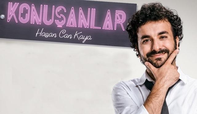 Hasan Can Kaya'nın Konuşanlar programı yeni bölümleriyle EXXEN'de başlıyor!