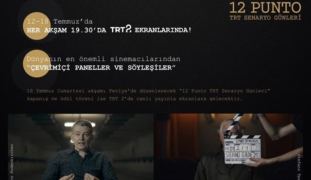 12. Punto TRT Senaryo Günleri'nin etkinlik tarihi belli oldu!