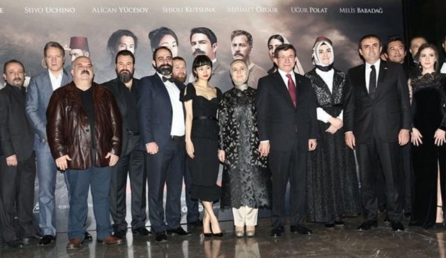 """""""Ertuğrul 1890""""ın İstanbul galası yapıldı!"""