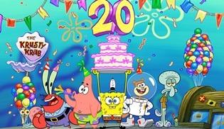 SüngerBob 20. yılını sinema filmiyle kutluyor!