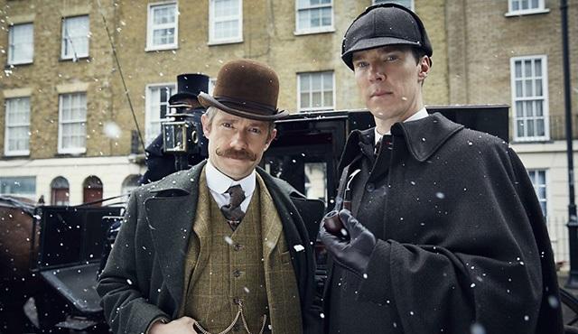 Sherlock özel bölümünden yeni bir tanıtım paylaşıldı