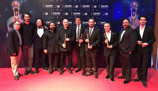 DAHA, 24. Uluslararası Adana Film Festivali ulusal yarışmasından dört ödülle döndü!