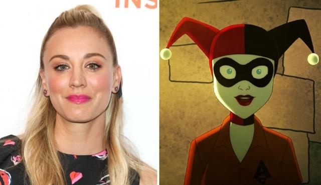 Animasyon Harley Quinn dizisinde başrolü Kaley Cuoco seslendirecek