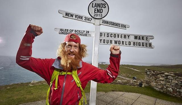 Sean Conway - İngiltere Koşusu Discovery Channel'da başlıyor