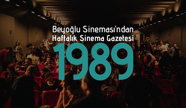 Beyoğlu Sineması'ndan Haftalık Sinema Gazetesi:1989