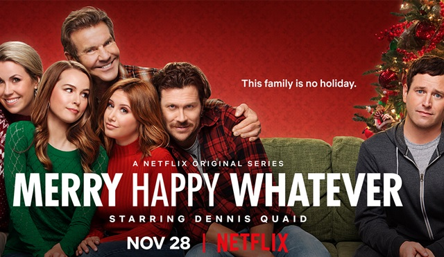Netflix'in yeni komedi dizisi Merry Happy Whatever 28 Kasım'da başlıyor