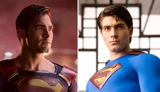 Brandon Routh ve Tyler Hoechlin, The CW'da bir kez daha Superman oluyor!
