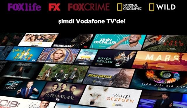 Yeni belgesel ve eğlence kanalları Vodafone Tv'de!