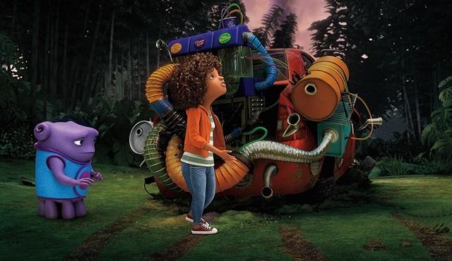 Animasyon filmi Evim (Home), Tv'de ilk kez atv'de ekrana gelecek!