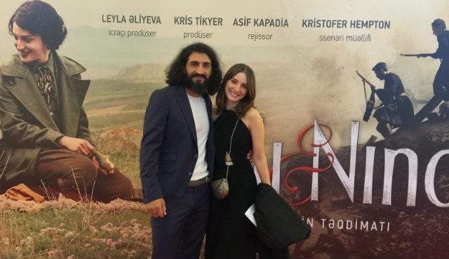 Numan Acar, 'Ali ve Nino'nun Bakü'deki galasına katıldı!