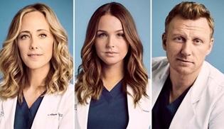 Grey's Anatomy'nin üç oyuncusu sözleşmelerini yeniledi