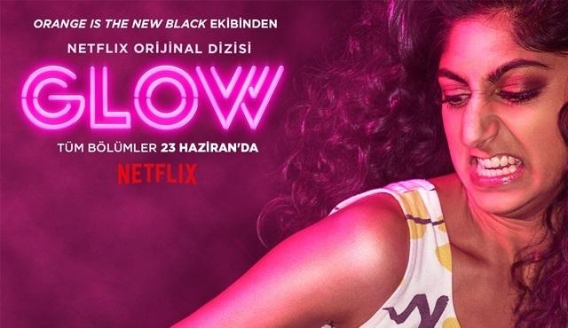 Netflix orijinal komedi dizisi GLOW'dan yeni karakter posterleri geldi