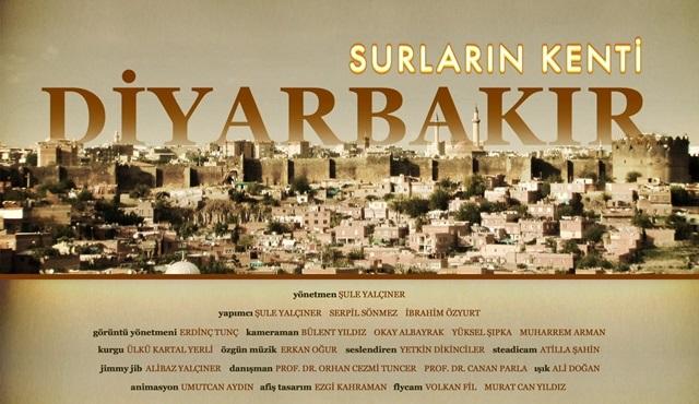 Surların Kenti Diyarbakır Belgeseli, TRT Belgesel'de ekrana geliyor!