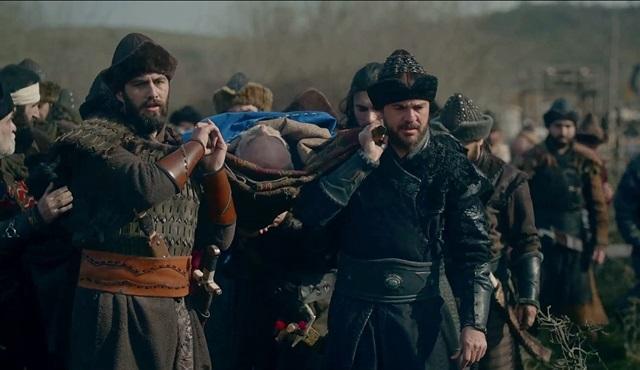 Diriliş Ertuğrul: Deli Demir'in cenaze sahnesi