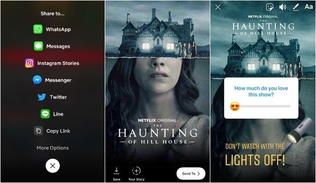 Sevdiğiniz Netflix yapımları artık Instagram Hikayeler'de!