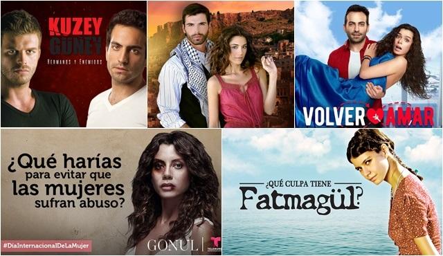 Meksika'da Türk dizileri