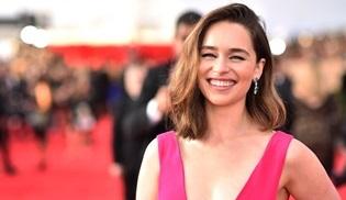 Emilia Clarke, Game o Thrones'un final sezonunda gerçek sarışın olacak